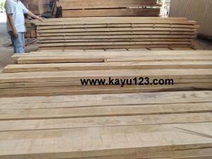 jual kayu sungkai oven